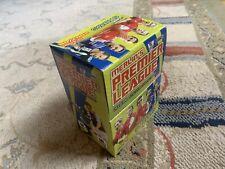 MERLIN PREMIER LEAGUE 2007/2008 BOX - 50 Packets, RONALDO MAN UNITED, VERY RARE