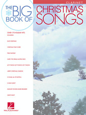 THE BIG BOOK OF CHRISTMAS SONGS-CLARINET MUSIC BOOK-BRAND NEW ON SALE SONGBOOK!!