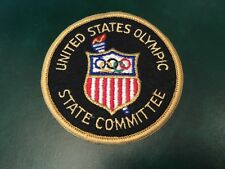 """ICOLLECTZONE USA Olympic 4"""" State Committee Patch (A500)"""