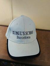 St. Paul's School Barcelona Spain Cap Baseball Trucker 58CM Adjustable