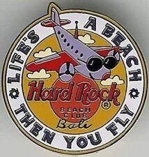 "Hard Rock Hotel BALI Beach Club 1998 ""Life's a Beach - Then You Fly"" PIN w/ Logo"