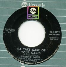 "FRANKIE LAINE-I'll Take Care Of Your Cares/Ev'ry Street's A Boulevard USA 7"" VG+"