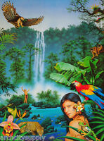 POSTER :FANTASY : THE LAST EDEN by TREVOR SCOBIE -  FREE SHIPPING  #3112  LC26 G