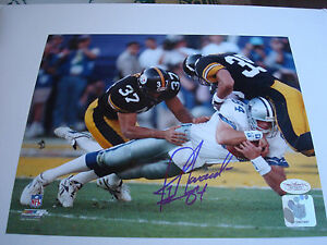 Jay Novacek Signed 8x10 Photo Dallas Cowboys JSA COA Autographed b