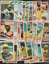 1977 / 78 / 80 OPC Team Lot of 27 Pittsburgh PIRATES NM PARKER Bert o-pee-chee