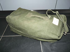 Vintage Seesack Alter Kleidersack Militär Reisetasche weekender Baumwolle