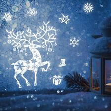 1pc Adesivi per finestre Decorazioni per finestre decorative bianche di Natale