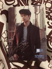 Cnblue Yes Card Etched photocard  Card Kpop k-pop U.S Seller With Top loader