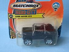 Matchbox Land Rover 90 SVX Black Body Toy Model Car 60mm in BP
