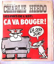 """Charlie Hebdo N°327 du 17/02/1977; """"Les Pays de L'Est"""" par Reiser"""