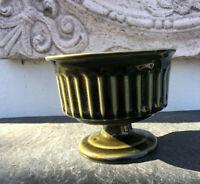 Keramik Schale Rose Bowl Jardiniere England Devonshire Pottery Queen Anne grün