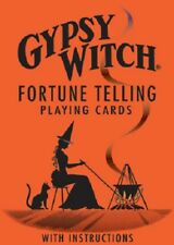 Gypsy Witch Fortune Telling Playing Cards NEW Sealed Divination Instructions