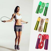 Springseil mit einem Sprungzähler Fitness Crossfit Skipping in 4 Farben