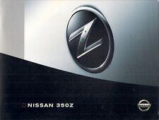 Nissan 350Z Coupe 2003-04 Belgian Market Sales Brochure Portfolio