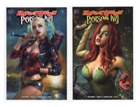 Harley Quinn & Poison Ivy #1 Maer TRADE Dress Variant SET Lot