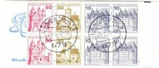 Germany used entire booklet pane; Scott # 913, 914, 916 [df