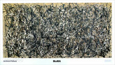 Jackson POLLOCK One Number 31 Abstract Museum Poster 39 x 68