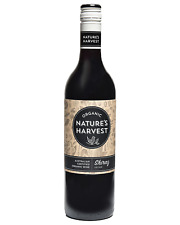 Nature's Harvest Shiraz case of 6 Dry Red Wine 750mL