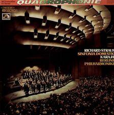 Strauss-Sinfonia domestica, Karajan, Berliner Philh. audiophile Quadro LP ED 1