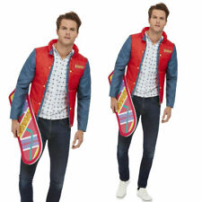 Back to the Future Marty McFly Costume Mens Adulta Licensed Fancy Dress Costume