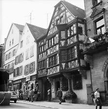 SAVERNE c. 1960 - Vieilles Maisons Commerces  Bas Rhin - Négatif 6 x 6 - N6 GE26