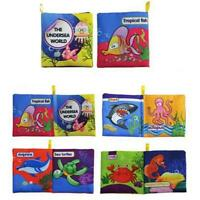 Soft Toy Baby Cloth Book Early Learning Crinkle Books 3D Book First Baby Book Y