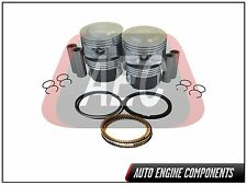 Piston & Ring Fits Chevrolet GMC Isuzu Canyon Colorado 2.8 L LK5 DOHC #PR046