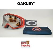 OAKLEY® CROWBAR® SNOW BOARD SKI GOGGLES US OLYMPIC TEAM W/ BLACK MIRROR LENS NEW