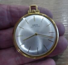 QUALITY VINTAGE ORIS GENTS POCKET WATCH // WORKING