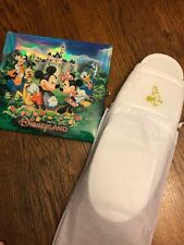 Hong Kong Disneyland Photo/ Autograph Book And New Sorcerer Mickey Slippers