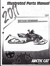 2011 ARCTIC CAT SNOWMOBILE M6 PARTS MANUAL P/N 2258-776  (763)
