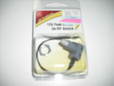 RV - 12 Volt Push Button / On & Off Switch - Great for 12 v Lights & Power Vents