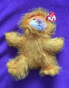 TY Punkies KITTY the Lion Stuffed Animal Toy 2003 With Tag