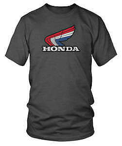 Honda Collection Adult T-Shirt 85 Trials Tee Shirt Charcoal Size S-2XL
