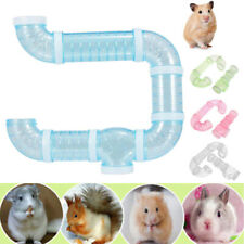 Transparent Hamster Rat Squirrel Cage Tunnel Tube Climbing Toys Small Pet Supply