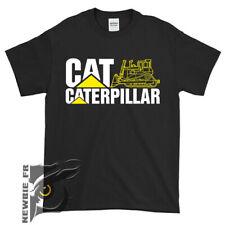 Cat Caterpillar logo Men's Clothing T Shirt USA size S - XXL #034