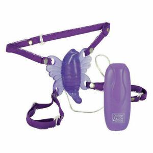Venus Butterfly 2 Strap-on High Powered Vibrating Clit Stimulator Vibe Purple