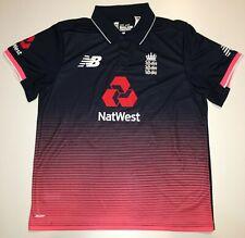 New Balance England Cricket Polo #60 David - Size L