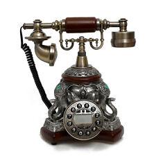 Vintage Antik Retro Anrufer Id Handgerät Schreibtisch Holz Telefon Hand-Free