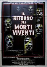 manifesto 4FG IL RITORNO DEI MORTI VIVENTI ZOMBIE RETURN OF THE LIVING DEAD HORR