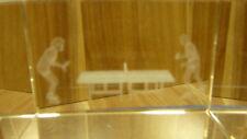 3D Glasblock  Tischtennis