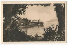 France - Aix-les-Bains, Lac du Bourget, L'Abbaye d'Hautecombe - 1920's postcard