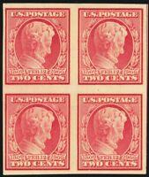 368, Mint VF NH 2¢ Lincoln Block of Four Cat $115.00 - Stuart Katz