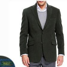 M&S COLLEZIONE Italian WOOL & CASHMERE Regular Fit BLAZER ~ 44 Short ~ KHAKI