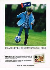 PUBLICITE ADVERTISING 035  1998  JACADI   vetements enfants garçon