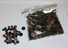 Crafting LEATHER LOT Dots 5 oz. Bag Genuine SMALL Punched Holes CIRCLES New