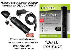 ANDIS CORD / CORDLESS PRO Lithium Ion NAIL GRINDER DOG CAT Pet Groomer Grooming