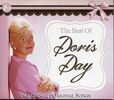 THE BEST OF DORIS DAY - 2 CD BOX SET - SECRET LOVE, SUGARBUSH & MANY MORE