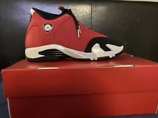 JORDAN 14 GYM RED TORO SIZE 10.5 In Hand  %100 Authentic Fast Shipping!