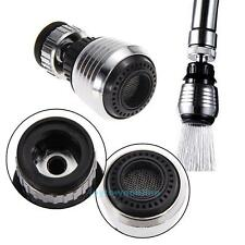 360 Rotatable Water Saving Tap Faucet Nozzle Filter Adapter Aerator Diffuser Kit